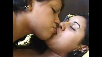 Interracial lesbians fingering and eating each others pussies | intimate | hot kissing | desi