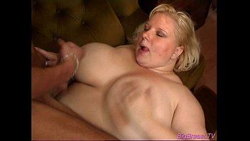 Hot big-breasted slut gets a big cock in her tight pussy-POV