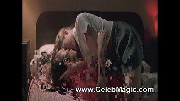 Neve Campbell & Denise Richards Topless Lesbian Kiss On ScandalPlanet.Com