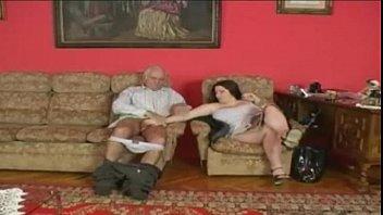 asian girl taking old mans cock
